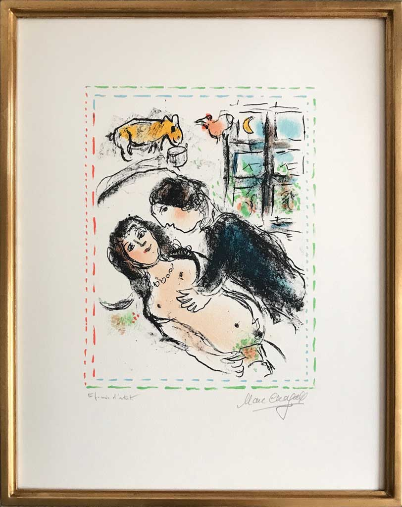 Or dos noir (oeuvre de Marc Chagall)